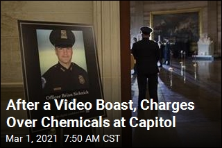 Cops Charge Texan With Spraying Officers at Capitol