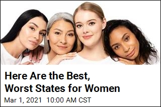 Here Are the Best, Worst States for Women