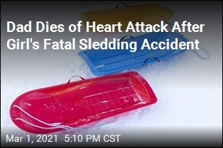 Father Dies of Heart Attack After Daughter's Fatal Sledding Accident