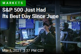 S&P 500 Just Had Its Best Day Since June