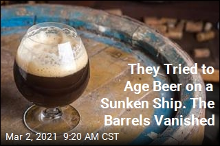 They Tried to Age Beer on a Sunken Ship. The Barrels Vanished