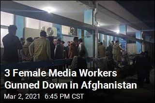 3 Female TV Workers Shot Dead in Afghanistan