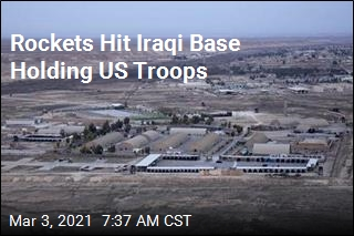 Rockets Hit Iraqi Base Holding US Troops
