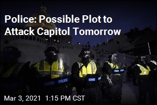 Police Warn of Possible Plot to Attack Capitol Thursday