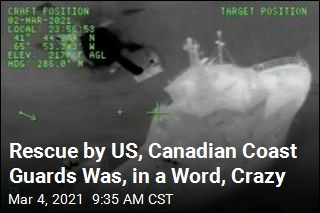 Rescue by US, Canadian Coast Guards Was, in a Word, Crazy