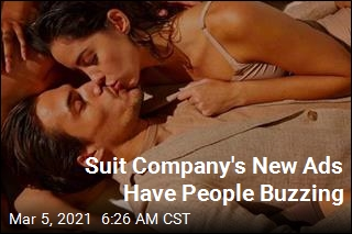 Suit Company's New Ads Have People Buzzing