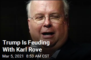 Trump Is Feuding With Karl Rove