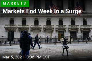 Markets End Week In a Surge