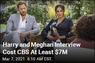CBS Reportedly Paid Millions for Meghan and Harry Interview