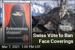 Swiss Approve Banning Burqas