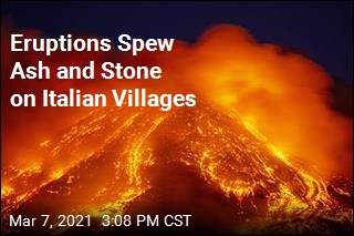 Eruptions Spew Ash and Stone on Italian Villages