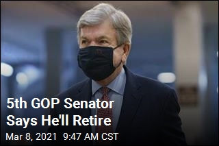 5th GOP Senator Says He'll Retire