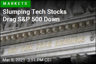 Slumping Tech Stocks Drag S&P 500 Down