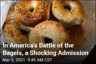 In America's Battle of the Bagels, a Shocking Admission