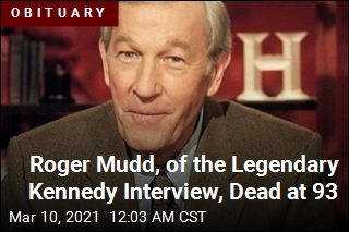 Roger Mudd, of the Legendary Kennedy Interview, Dead at 93