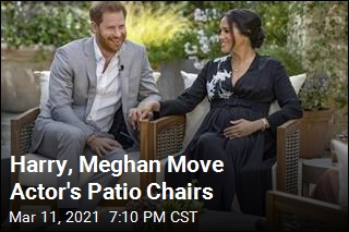 Harry, Meghan Move Actor's Patio Chairs