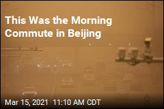 This Was the Morning Commute in Beijing