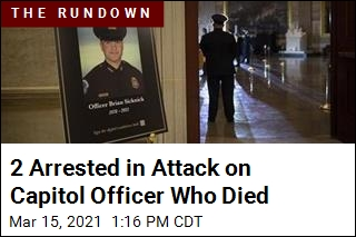 Report: 2 Arrested in Death of Capitol Officer Brian Sicknick