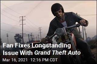 Fan Fixes Longstanding Issue With Grand Theft Auto