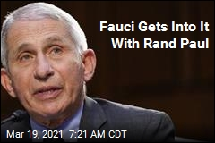 Fauci Gets Into It With Rand Paul