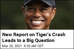 Report: Tiger Woods Never Hit the Brakes Before Crash