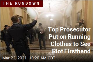 Prosecutor Had First-Person View of Capitol Riot