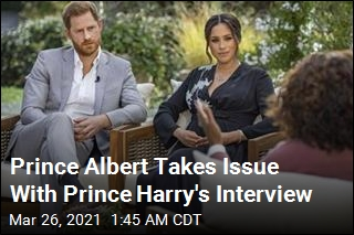 Prince Albert Was Bothered by Prince Harry's Interview