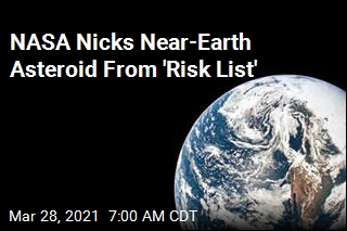 NASA Nicks Near-Earth Asteroid From 'Risk List'