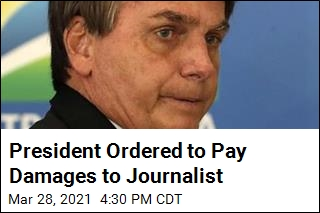 President Ordered to Pay Damages to Journalist