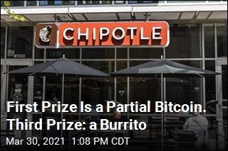 It's the First Fast-Food Bitcoin Giveaway