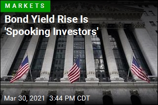 Stocks Fall Back as Treasury Yields Rise
