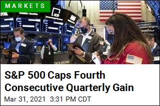 S&P 500 Clinches Fourth Straight Quarterly Gain