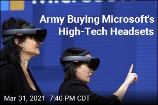 Army Buying Microsoft's High-Tech Headsets