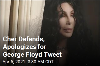 Cher Is Sorry About That George Floyd Tweet