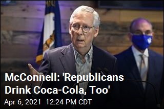 McConnell: 'Republicans Drink Coca-Cola, Too'