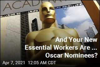 Oscar Nominees Are, Apparently, Essential Workers