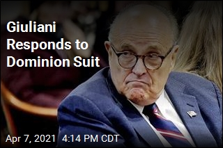 Giuliani Responds to Dominion Suit