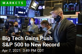 S&P 500 Hits Second Record High in 3 Days