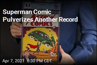 Superman Comic Sells for Record $3.25M