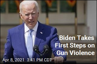 Biden Takes First Steps on Gun Violence