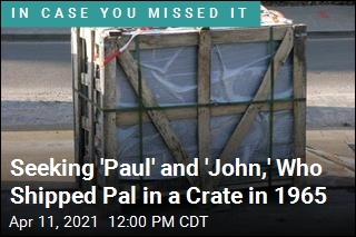 Seeking 'Paul' and 'John,' Who Shipped Pal in a Crate in 1965