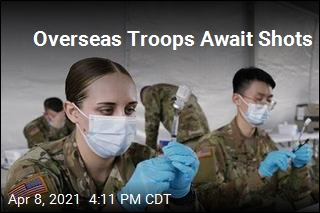 Vaccinations of Troops Overseas Lag