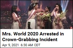 Mrs. World 2020 Arrested for Taking Mrs. Sri Lanka's Crown