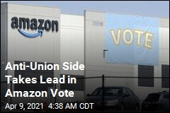 Anti-Union Side Takes Lead in Closely Watched Amazon Vote
