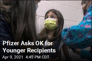 Pfizer Asks OK for 12- to 15-Year-Olds
