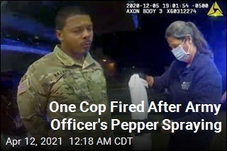 Virginia State Police to Probe Army Officer's Pepper Spraying