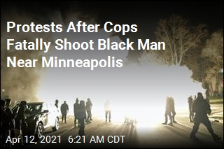 Protests After Cops Fatally Shoot Black Man Near Minneapolis