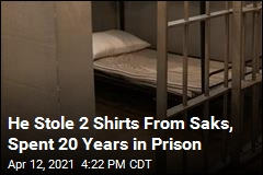 He Stole 2 Shirts From Saks, Spent 20 Years in Prison