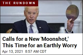 Calls for a New 'Moonshot,' This Time for an Earthly Worry