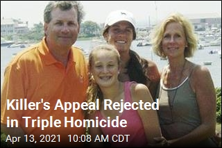 Killer's Appeal Rejected in Triple Homicide